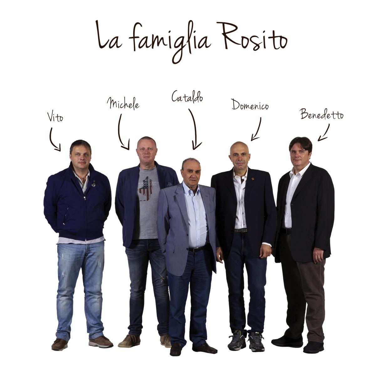 La Famiglia Rosito, Cataldo, Domenico, Benedetto, Vito e Michele